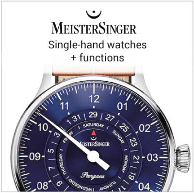 MeisterSinger single-hand plus functions