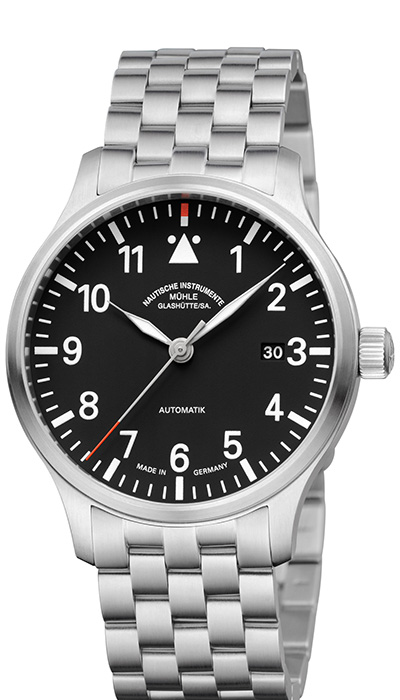 Terrasport II black dial (steel band) M1-37-44-MB