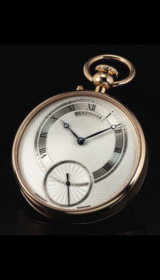 Subscription VI Pocket Watch Gold