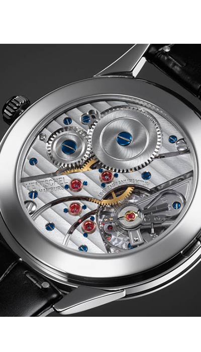 H1 Steel White Gold movement