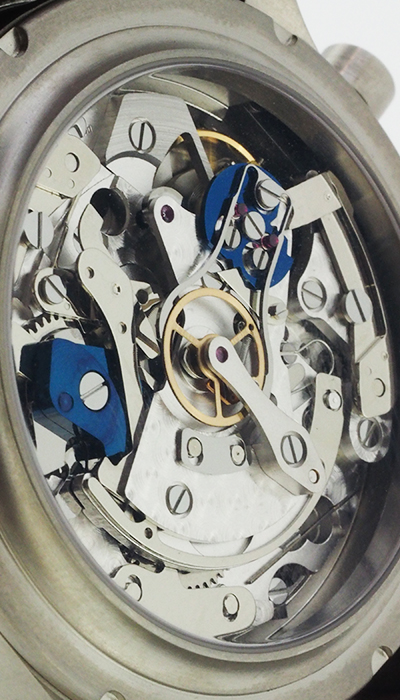 habring doppel 3.1 titanium movement