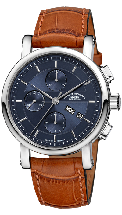 Teutonia II Chronograph blue
