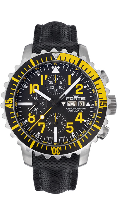 Fortis_Marinemaster_Chrono_Yellow