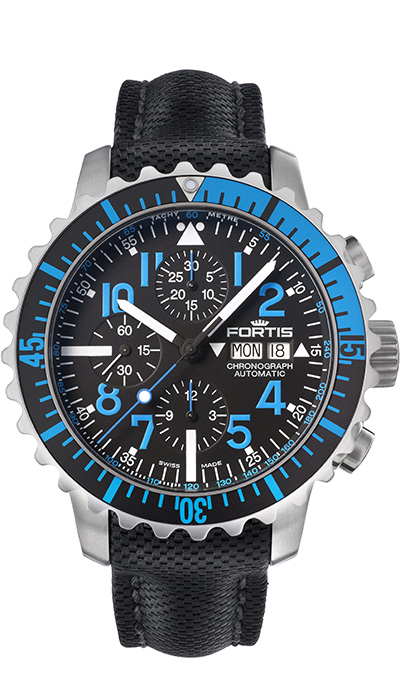 Fortis_Marinemaster_Chrono_Blue