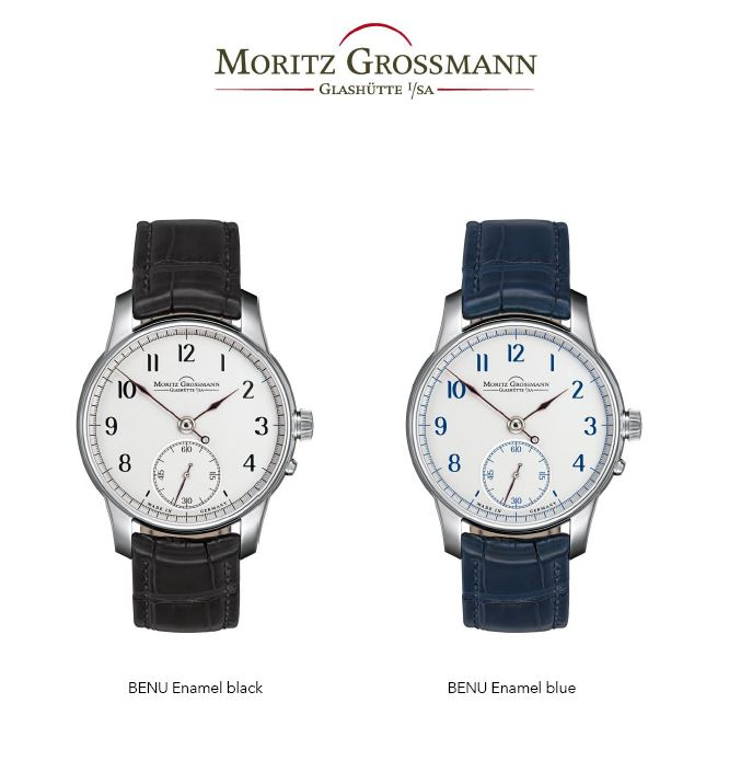 Advertisement: Moritz Grossmann presents the BENU Enamel