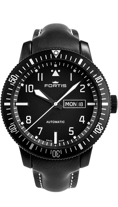 Fortis_Aeromaster_Mission_Timer_Leather