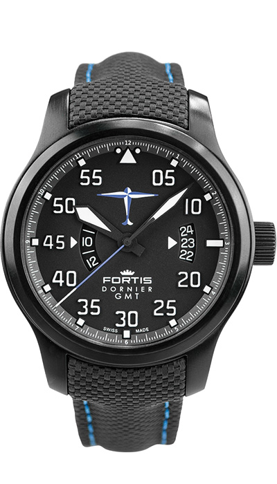Fortis_Dornier_GMT_Leather_Performance