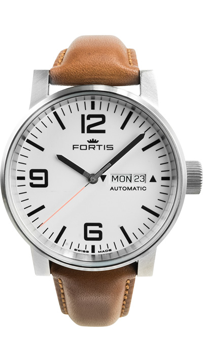 Fortis_Spacematic_Steel_White_Leather