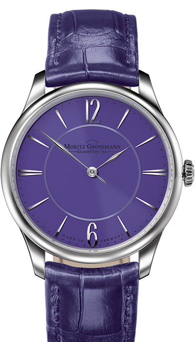 TEFNUT Pure Steel violet dial