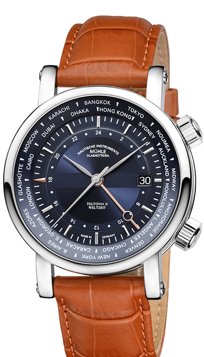Teutonia II World Time M1-33-82-LB
