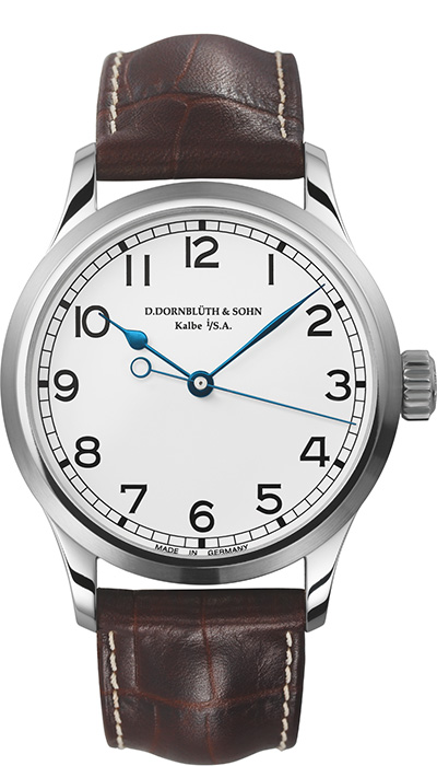 Center Second Silver Dial