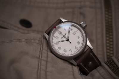 Pioneer One White Dial