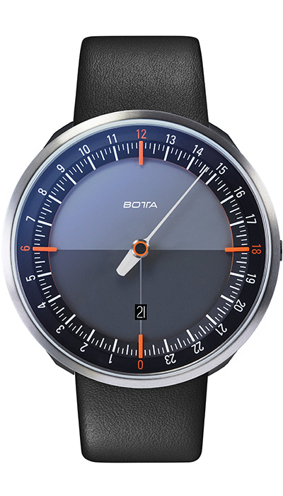 Botta_UNO_24_Plus_Black_Orange_Leather