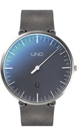 UNO Plus Anniversary Quartz black pearl