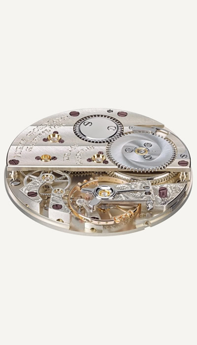 TEFNUT White Gold movement