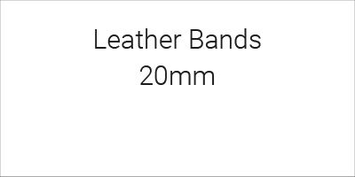 Leather Bands 20mm