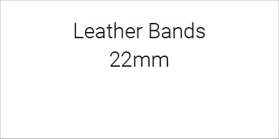 Leather Bands 22mm
