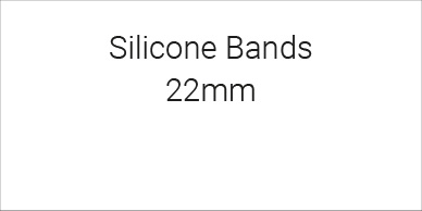 Silicone Bands 22mm