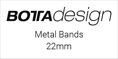 Botta-Design Metal Bands 22mm