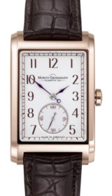 Corner Stone Rose Gold White Grand-feu Enamel Dial