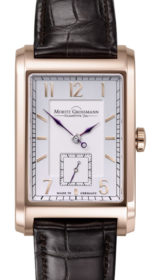 Corner Stone Rose Gold Silver/Opaline Dial