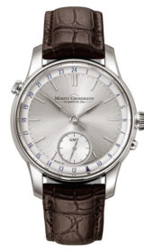 BENU GMT White Gold Silver Dial