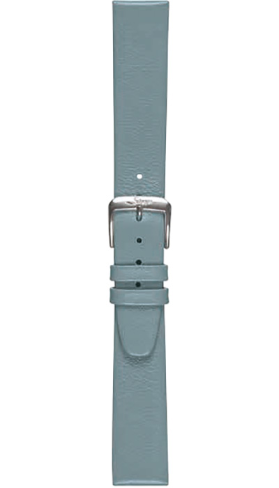 Sinn calf leather strap, blue-grey, 18mm