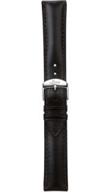 Sinn cow hide strap, black, softened, 20mm