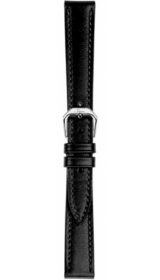 Sinn cow hide strap, black, softened, 14mm (ladies)