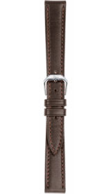 Sinn cow hide strap, mocha, softened, 14mm (ladies)