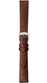 Sinn cow hide strap, mocha, alligator embossing, 14mm (ladies)