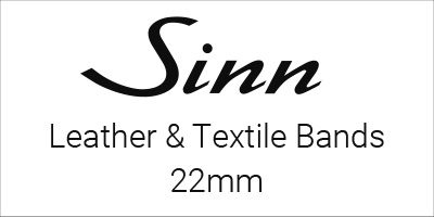 Sinn Leather & Textile Bands 22mm