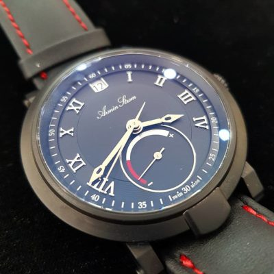 Blue Chip Power Reserve black PVD