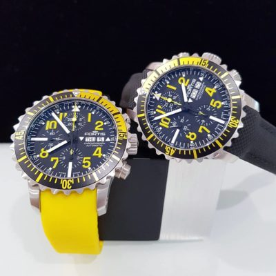Marinemaster Chronograph Yellow - Yellow Silicone Band