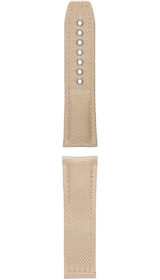 Hanhart textile band, sand-coloured, 24mm
