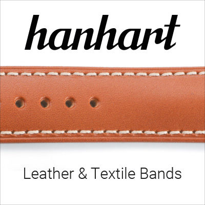 Hanhart Leather & Textile Bands