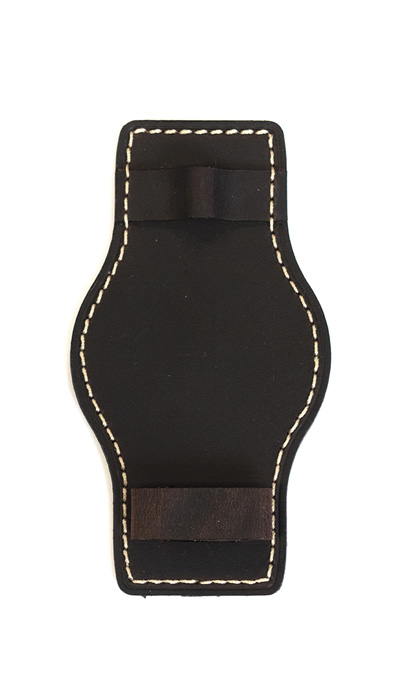 Hanhart_Pioneer_lower_strap_darkbrown