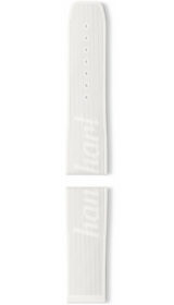 Hanhart vulcanised rubber band, white, 24mm