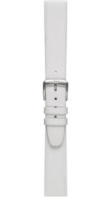 Sinn calf leather strap, white, 18mm