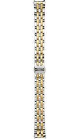 Sinn stainless steel band, fine link, polished/gold plated, 14mm (456)