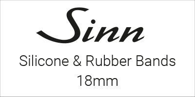 Sinn Silicone & Rubber Bands 18mm
