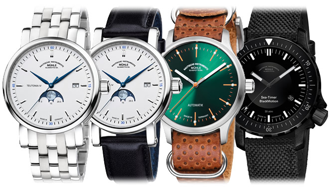 New Muehle-Glashuette models hit our shores