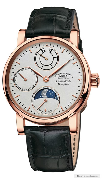Muehle Moon Phase Gold 5 watch