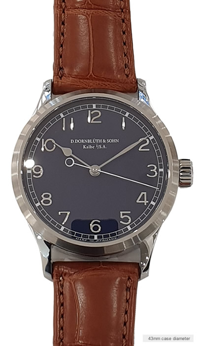 Center Second Navy Blue dial