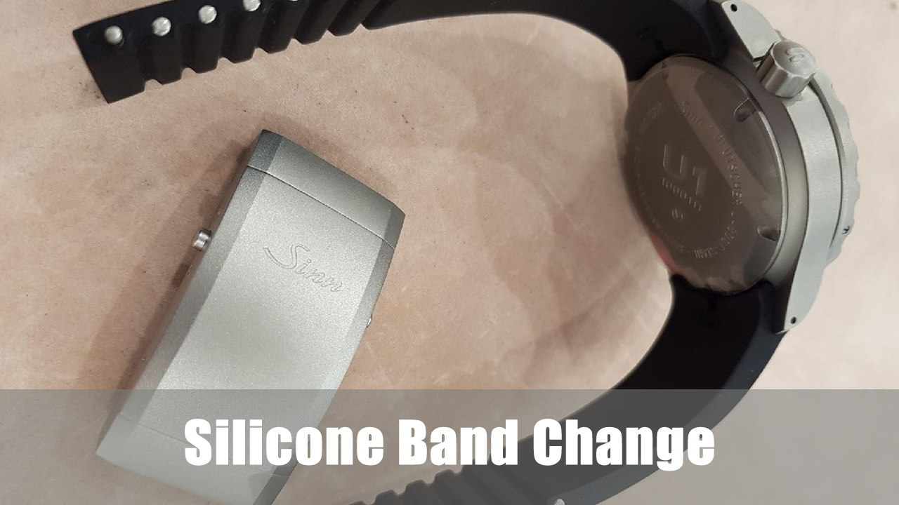 Videos: Sinn silicon band change and shortening guide