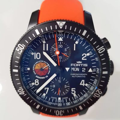 Official Cosmonauts Chronograph AMADEE-18