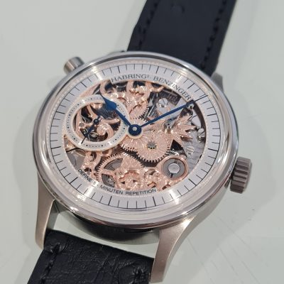 """Habring² by Benzinger 5 Minute Repeater """"Floral"""""""