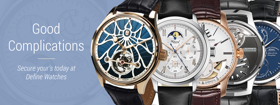 Good complications at Define Watches