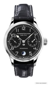 99.6-M Moon Phase black dial