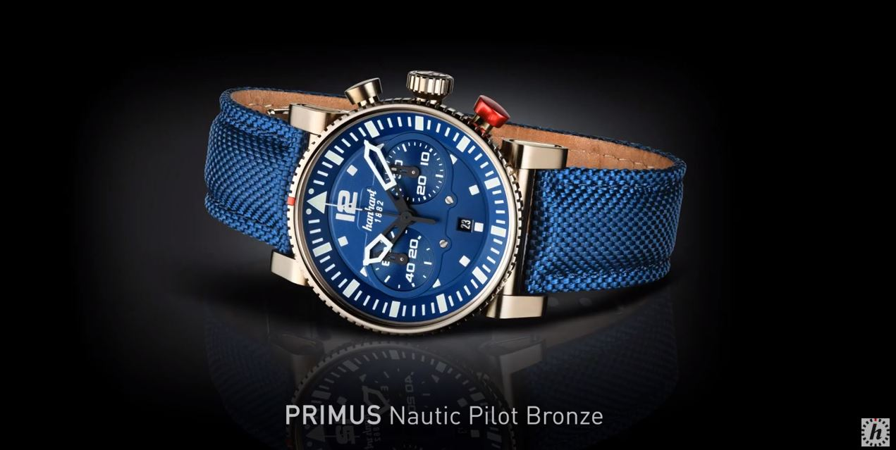Videos: Hanhart PRIMUS Nautic Pilot Bronze – Chronograph